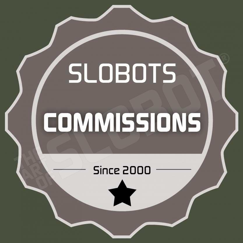 mike slobot robot artist commissions