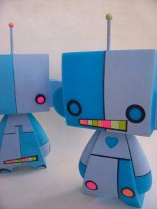 Shan Michael Evans_Glow Bot MadL Robot