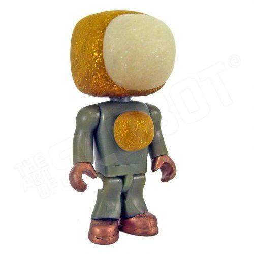 tiny robot slobotniks mike slobot glitter gold