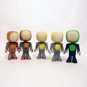 tiny small robot art mike slobot