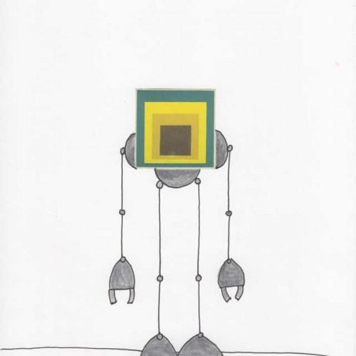 Mike Slobot Joseph Albers Bauhaus Homage to a Square Robot