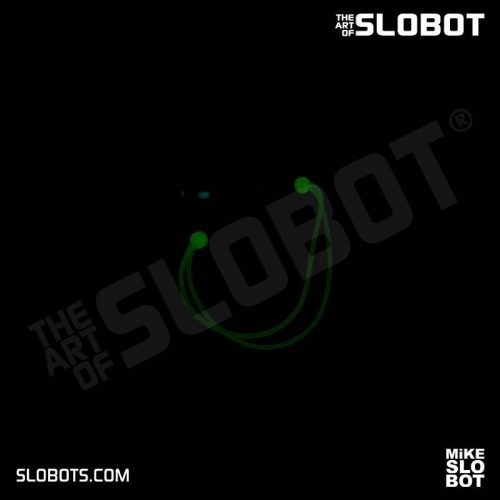 Mike Slobot Deep Space 5 at Night Glow in the Dark