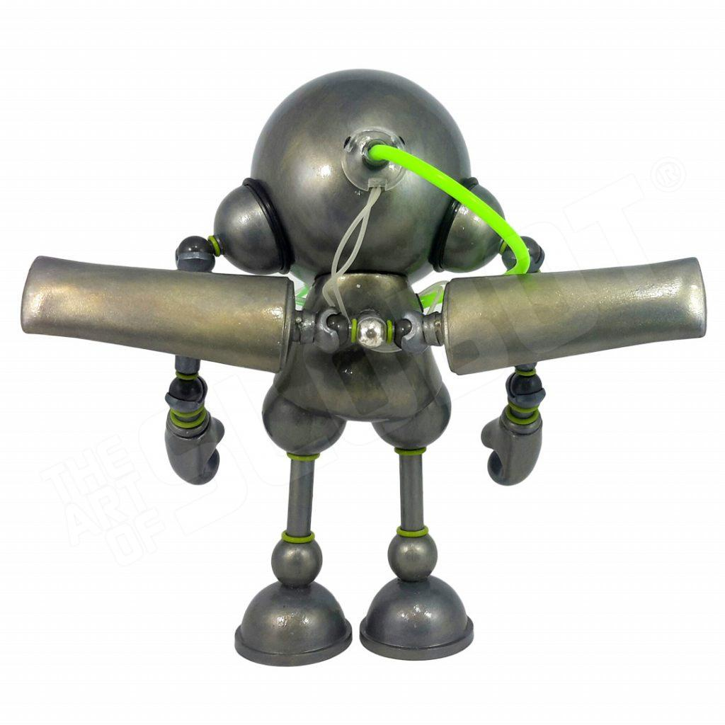 Mike Slobot Kidrobot Munny Robot Guardian Angel Back Doctors Without Borders