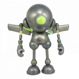 Mike Slobot Kidrobot Munny Robot Guardian Angel 01 slobots.com Art Without Borders 2