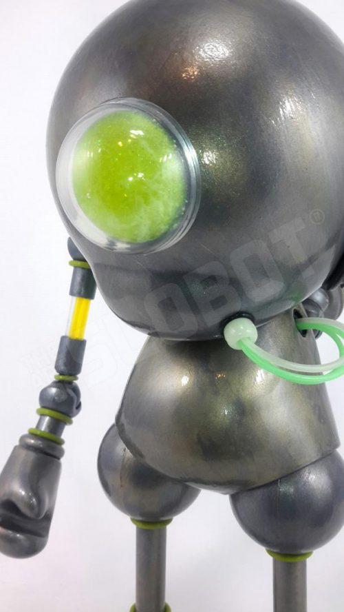 Detail Mike Slobot Kidrobot Munny Vinyl Toy Robot Guardian Angel 02 Art Without Borders 2