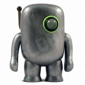 mike slobot martian space robot miner sculpture domokun