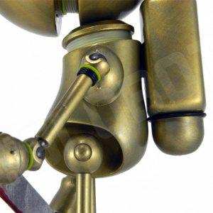 Mike Slobot Demon Hunter LA Robot Show left side detail