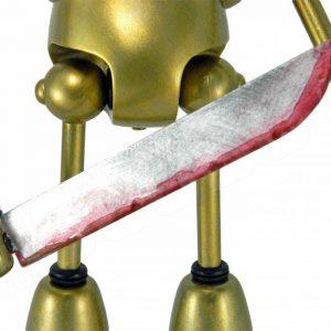 Mike Slobot Demon Hunter LA Robot Show notched sword
