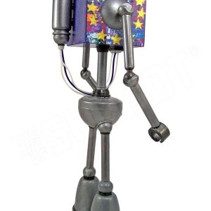 mike slobot robot u2 zooropa toy art gallery right side