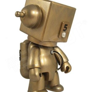 Mike Slobot 5 - Sentinel Class Moon Robot gold Qee right side