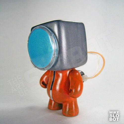 Mike Slobot A19 Fleet Mechanics Robot Repair Team Front space age orange grey robot