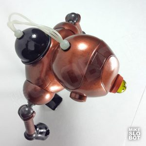 Mike Slobot Robot Sculpture Scube Steve Mk2 Top