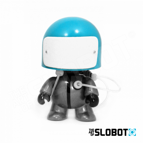 Mike Slobot Anakin Anakinbots Group Shot limited edition robot sculptures Celestial Frequency Shifter