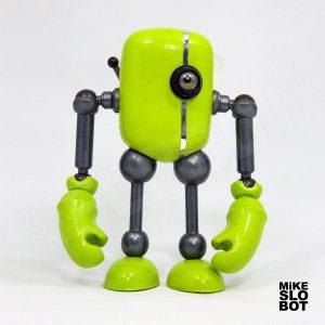 Mike Slobot Robot Pop Art GrunWalker Front