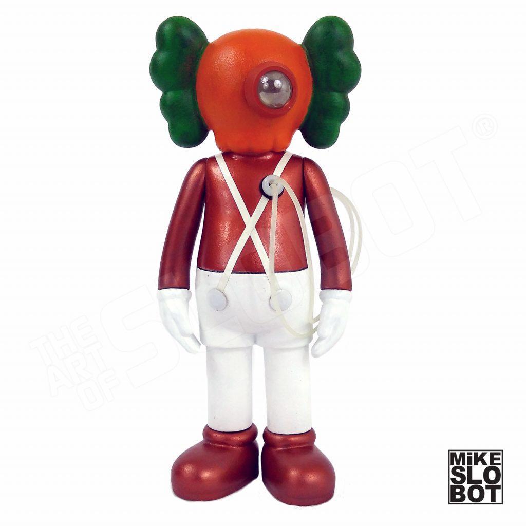 Mike Slobot Custom KAWS Companion Slonkabot 1000 Wonka oompa loompa