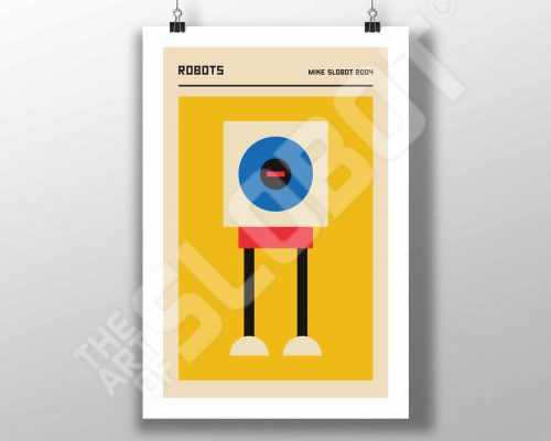The Bauhaus Robots #1 by Mike Slobot