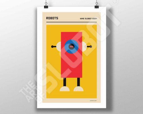 Mike Slobot Robots Bauhaus De Stijl #3