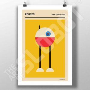 Mike Slobot Bauhaus Robots #4