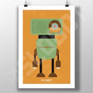 Mike Slobot MCM Radio Robot #3 MidCentury Modern