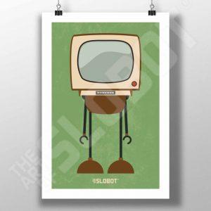 Mike Slobot Mid-Century MCM TV Robot #1
