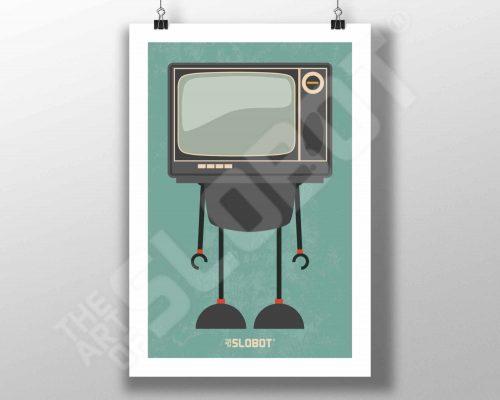 Mike Slobot MCM TV Robot #3 MidCentury Modern