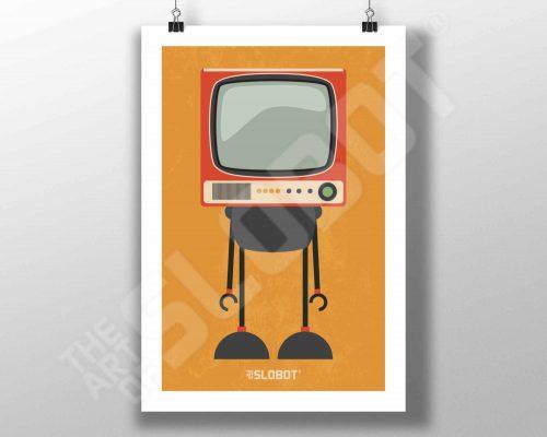 Mike Slobot Mid-Century Modern TV Robott #4 MCM