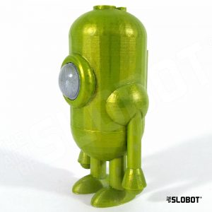 Carl 5 Stellar Mode small robot sculpture