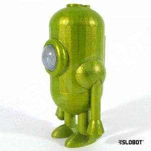 Carl 5 Stellar Mode small robot sculpture