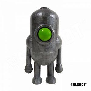 Carl 5 Green Eye large robot sculpture