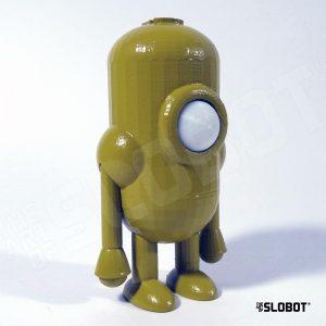 Mike Slobot Robot Carl 5 in a stunning Avocado greenn