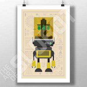 Mike Slobot 3D Printer Robot #2 SLS Resin Printers