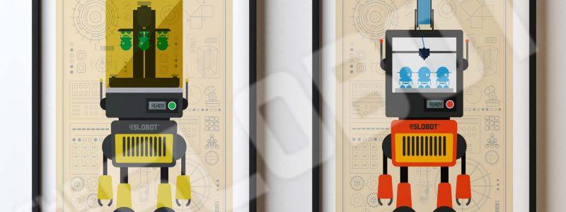 Mike Slobot 3D Printer Robots FDM PLA SLS Resin