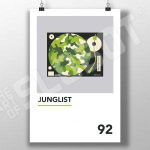 Mike Slobot Junglist Art Print