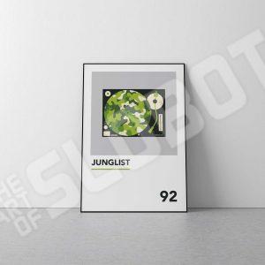 Mike Slobot Junglist the Art Print