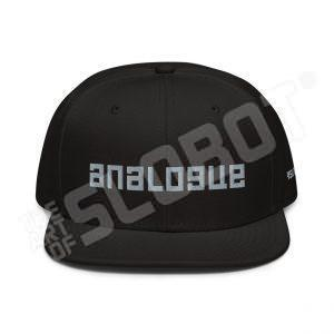 Mike Slobot Analogue hat in Black