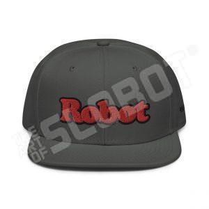 Mike Slobot Retro Robot Hat Front