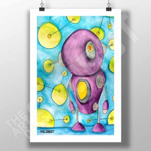 Mike Slobot The World Is Alive With Color Fine Art Print