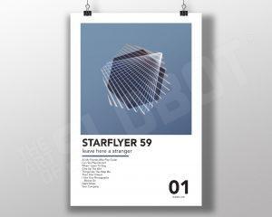 Mike Slobot - SF59 Leave Here A Stranger Poster